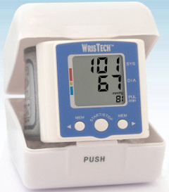 wrist blood pressure monitor picture
